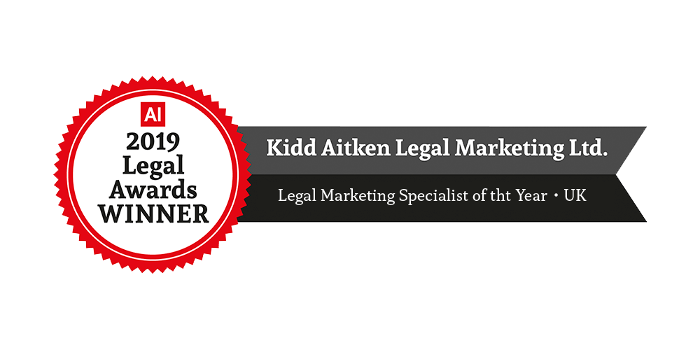2019 Legal Awards Winner - Legal Marketing Specialist of the Year
