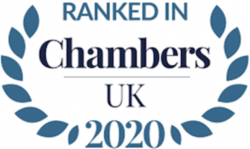 Ranked in Chambers UK 2020