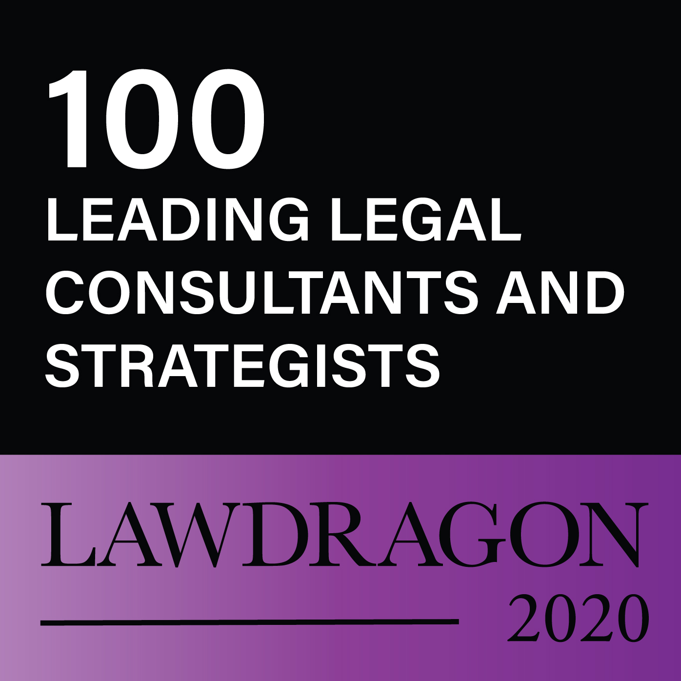 2020 Leading Legal Consultants and Strategists